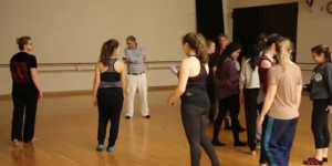 Improvising dancers use LAIT