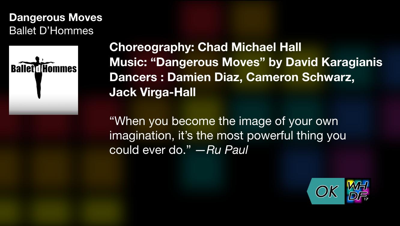 WeHo program app dance detail